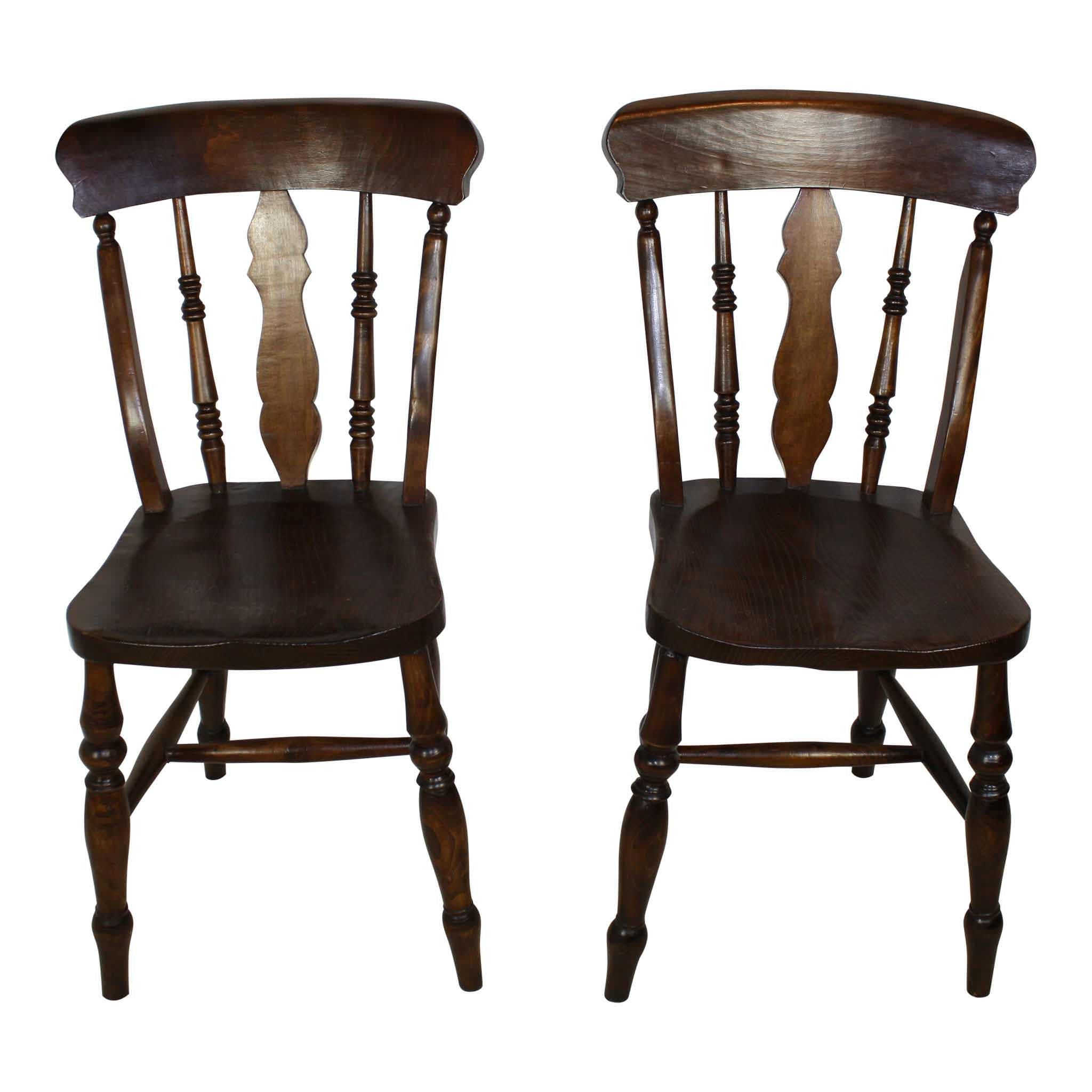 Oak Chairs Set/4