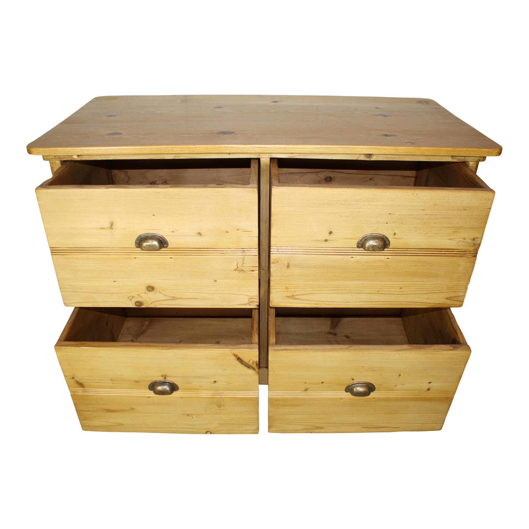 Pine Cabinet with Drawers