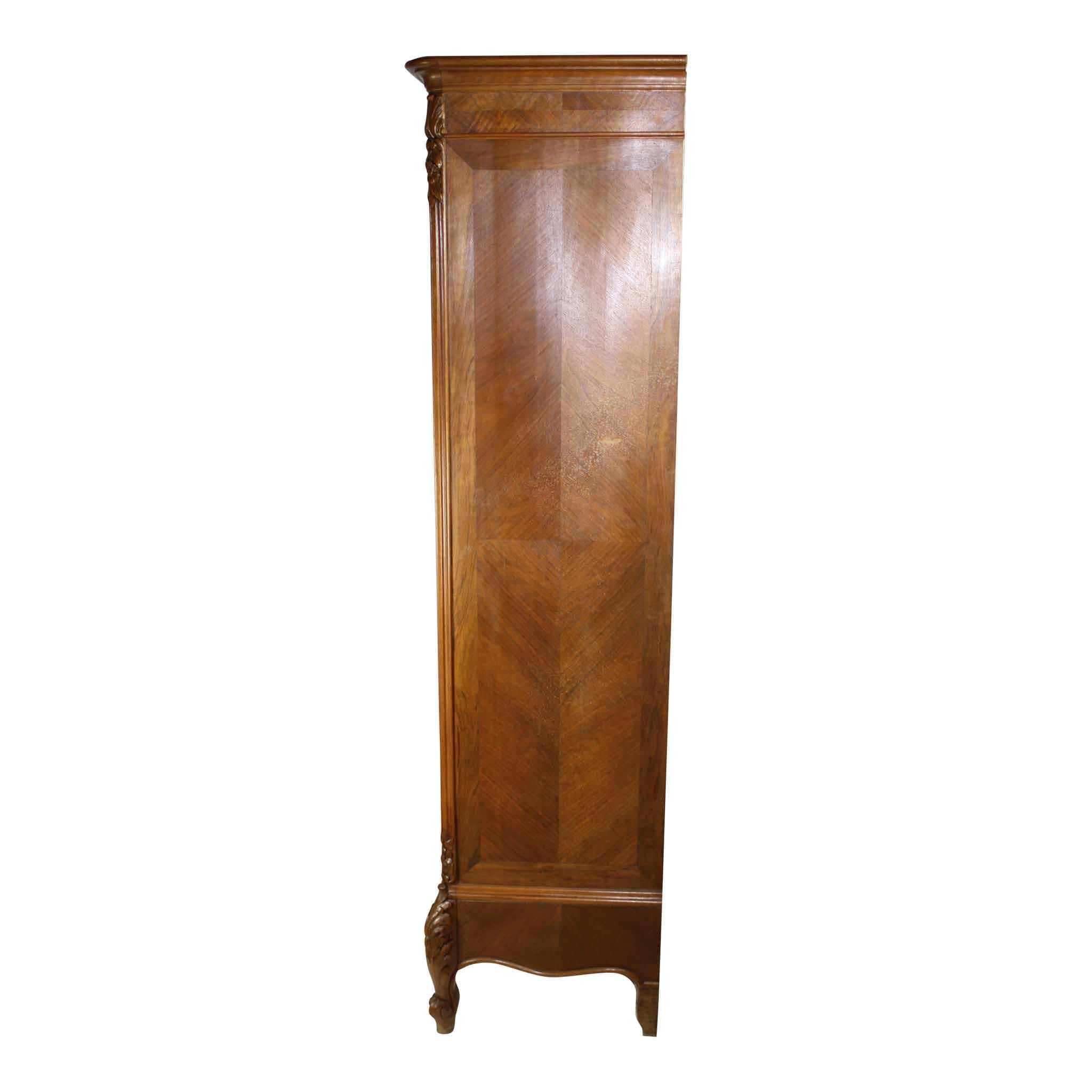 Louis XV Two Door Wardrobe