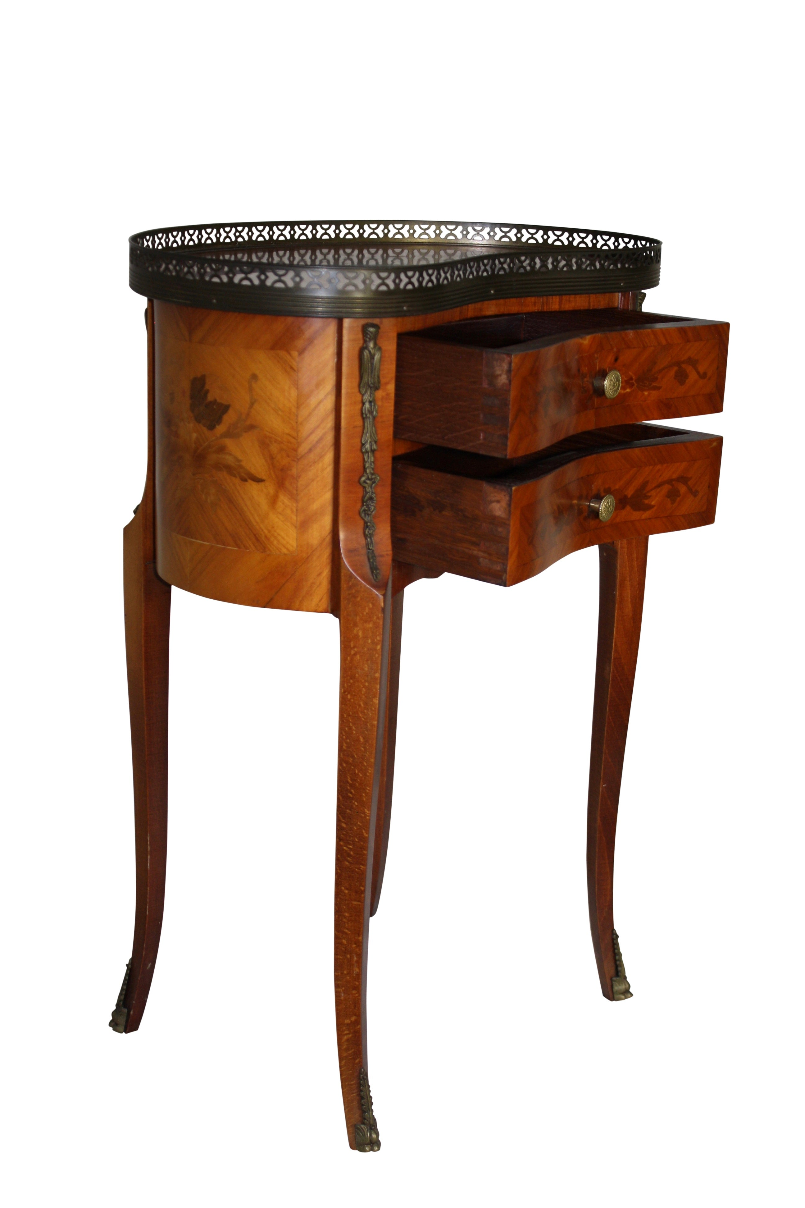Kidney Shaped Nightstand