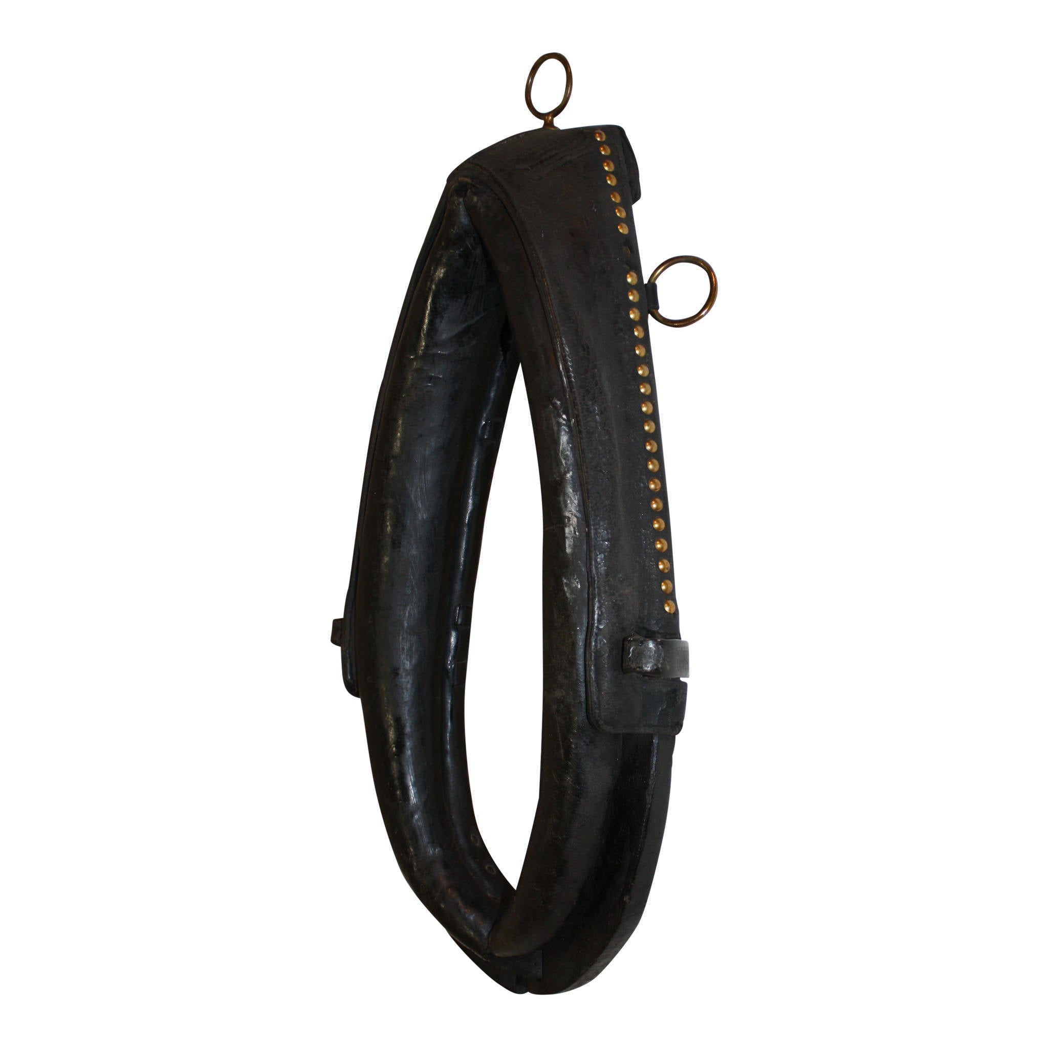 Leather Horse Collar/Yoke