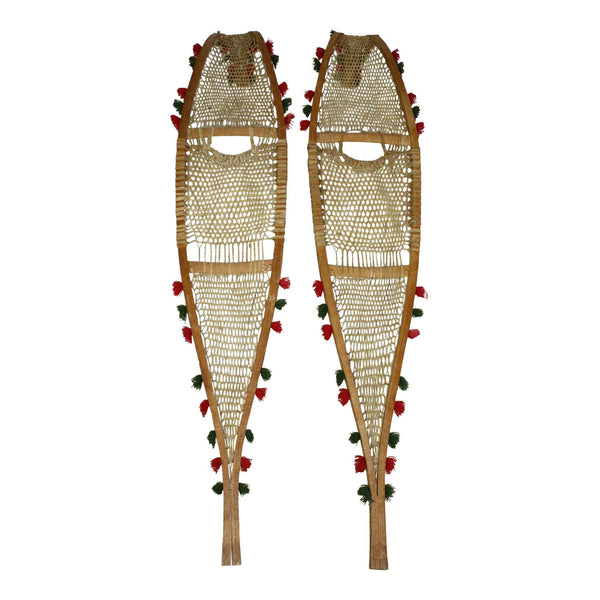 Indian Beaver Tail Snowshoes Ski Country Antiques Amp Home