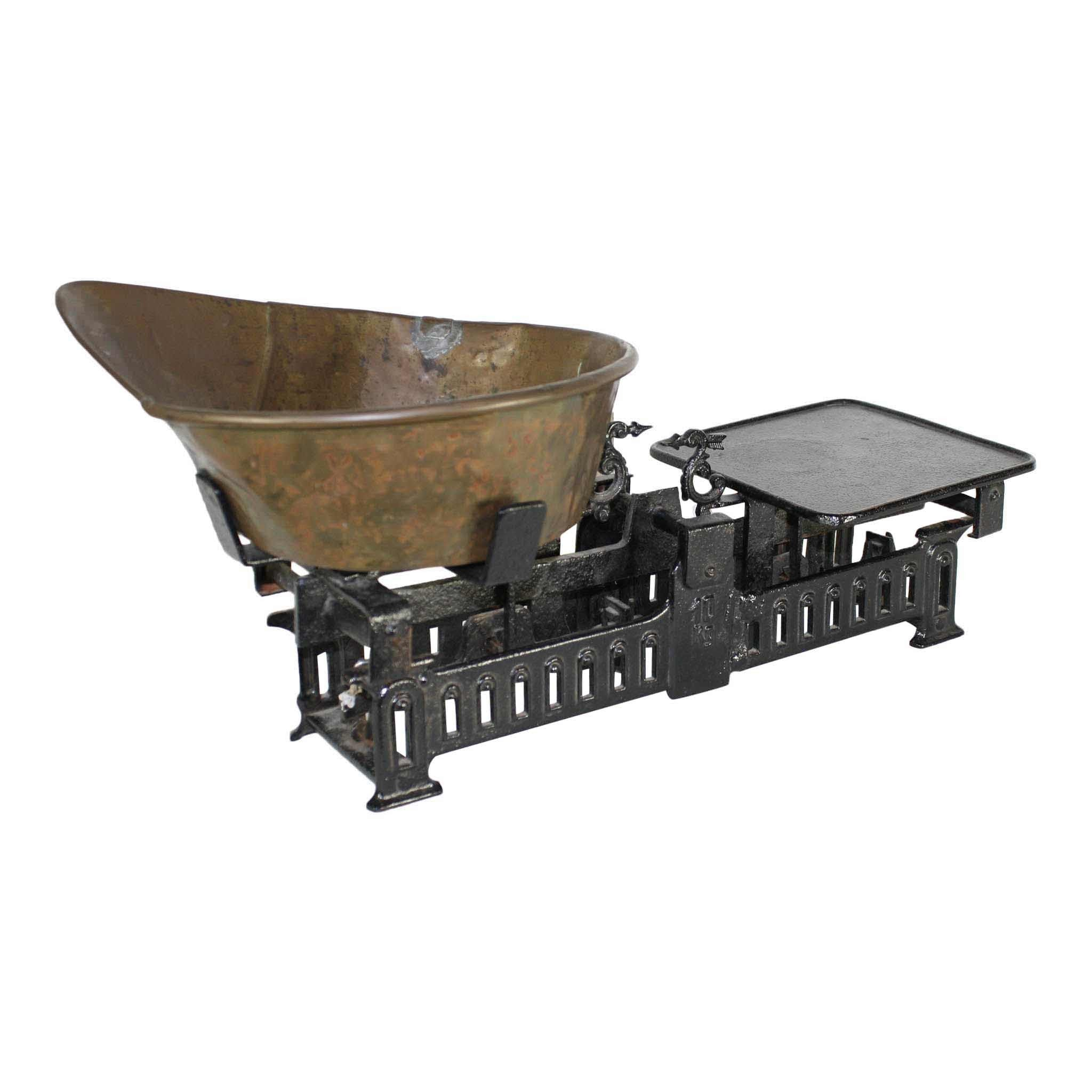Black Cast Iron Scale