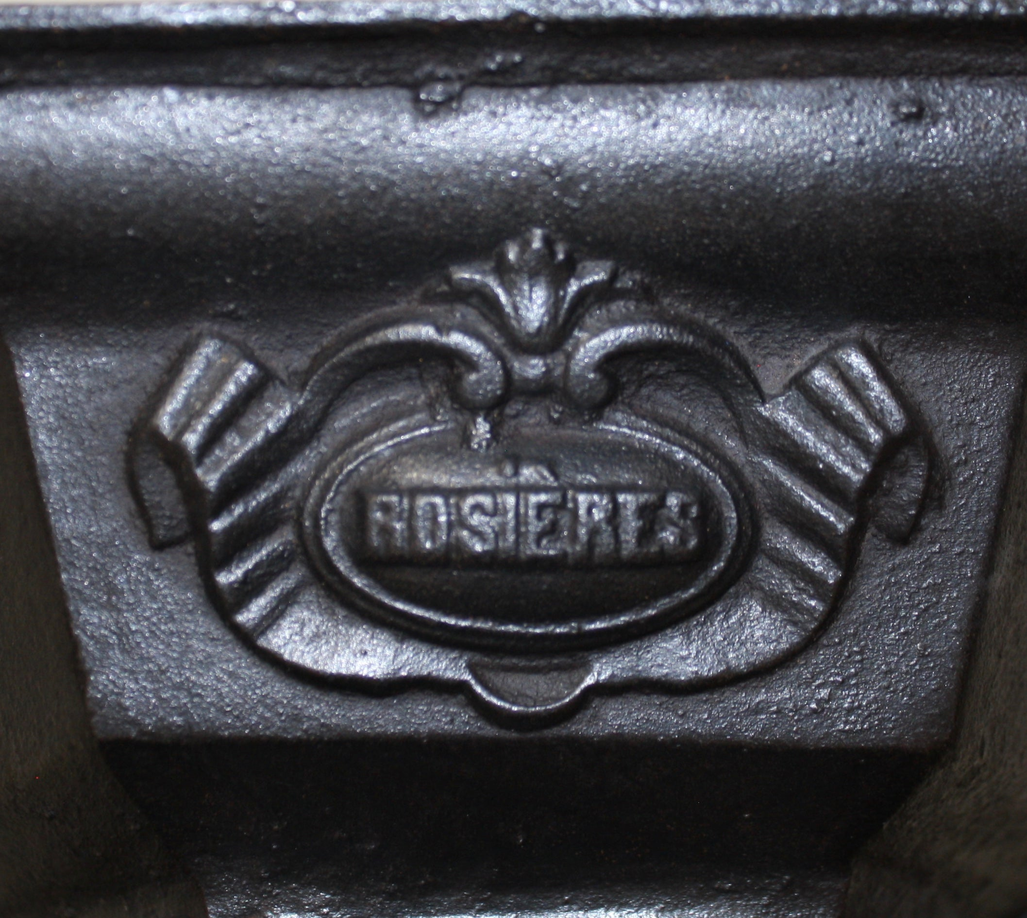 French Rosières Laundry Stove with Six Irons