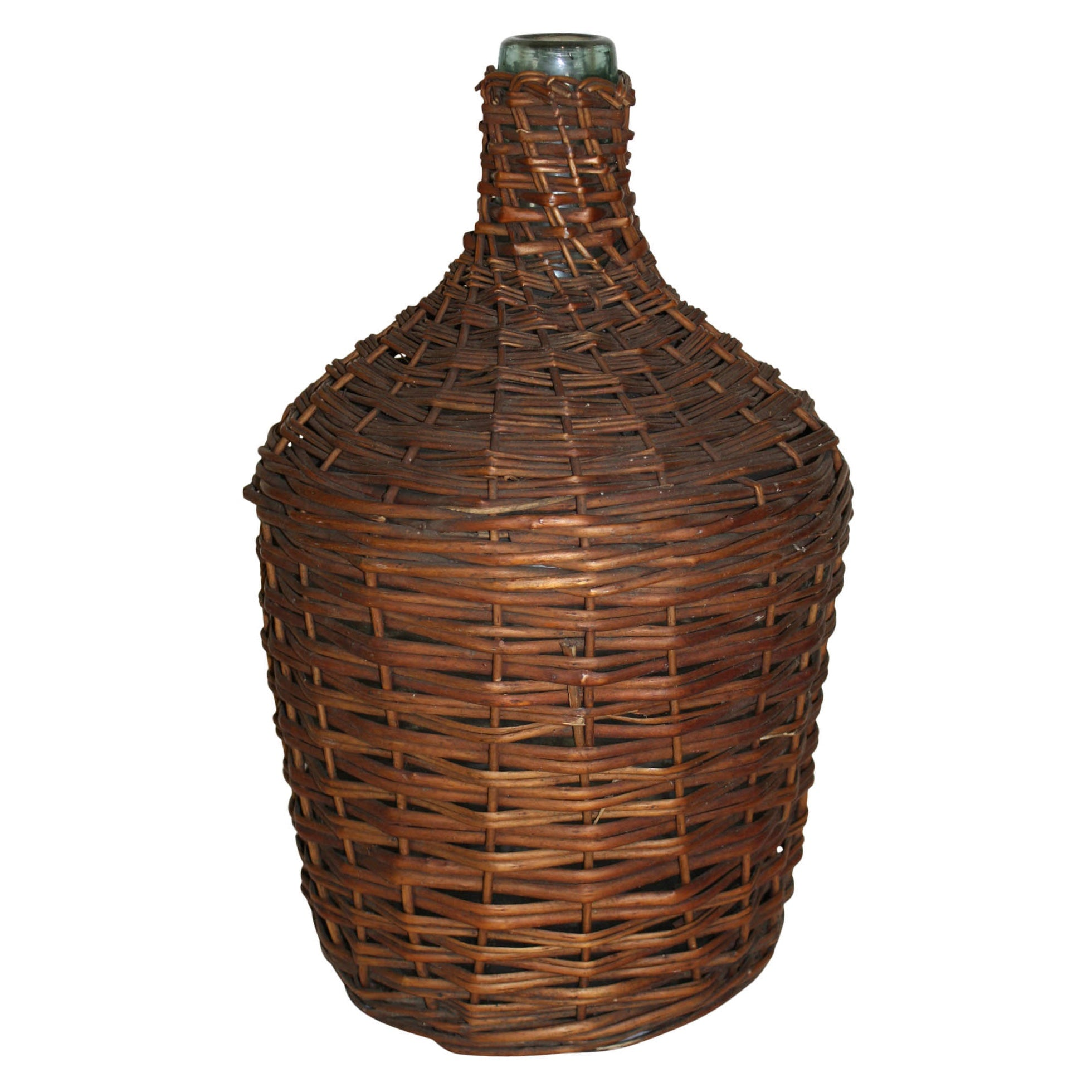 Wicker Demijohn Wine Bottle (Large)