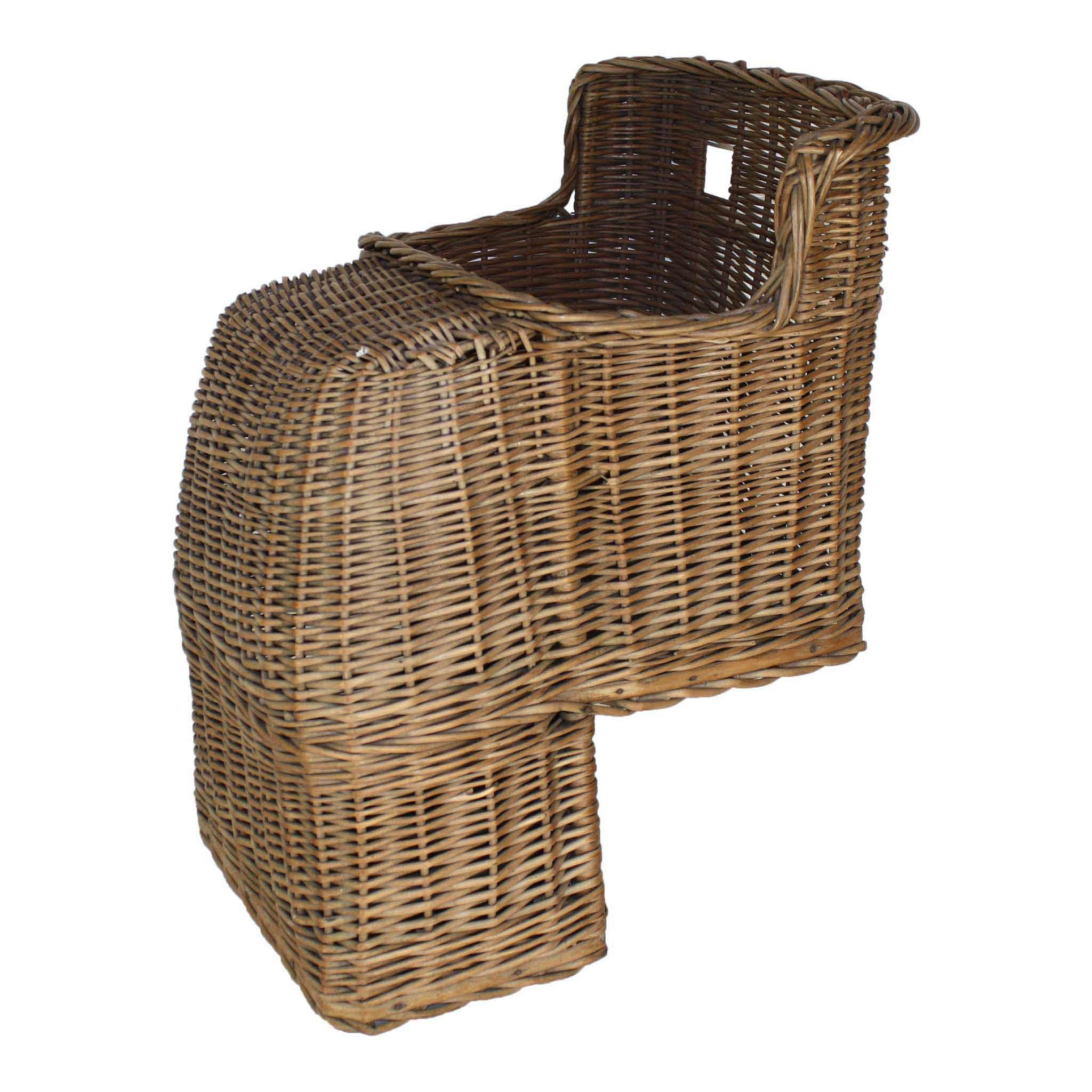 Wicker Bicycle Seat for Baby