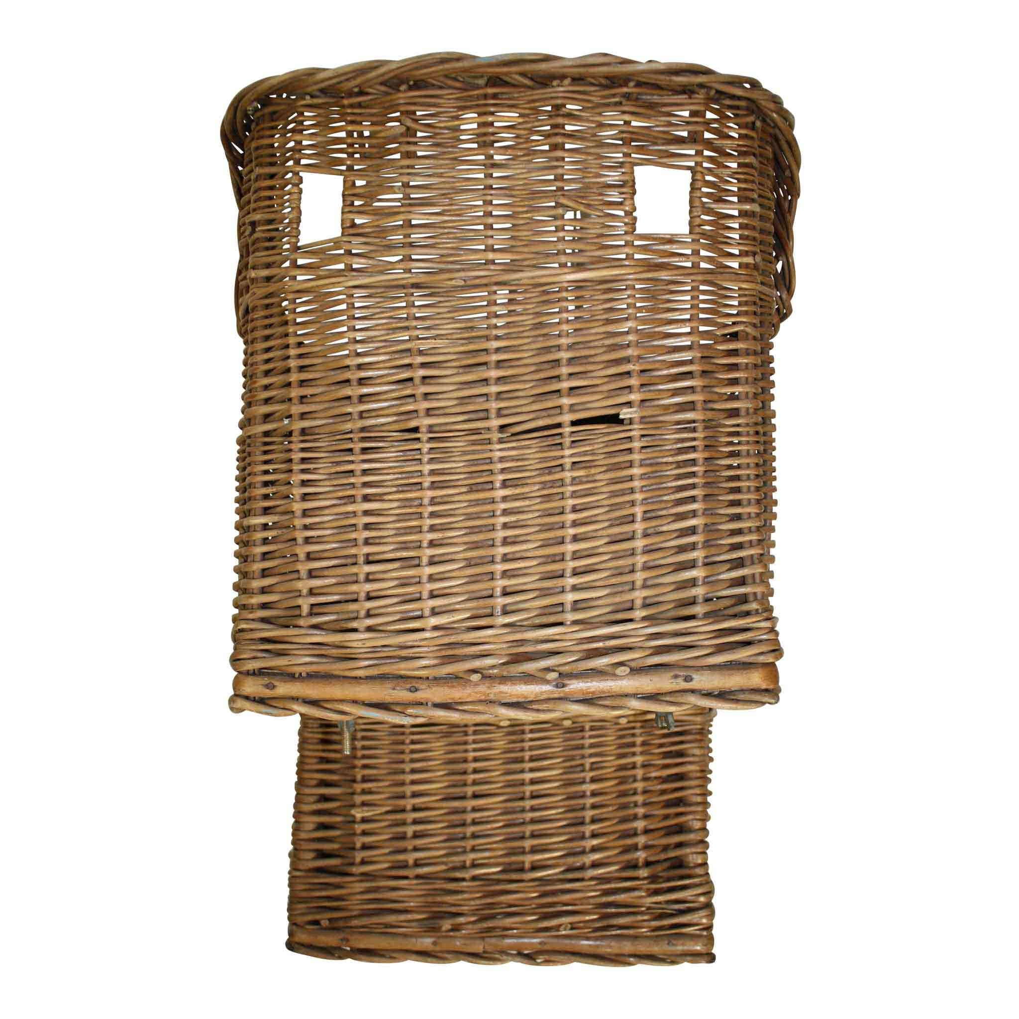 Wicker Bike Seat for Baby