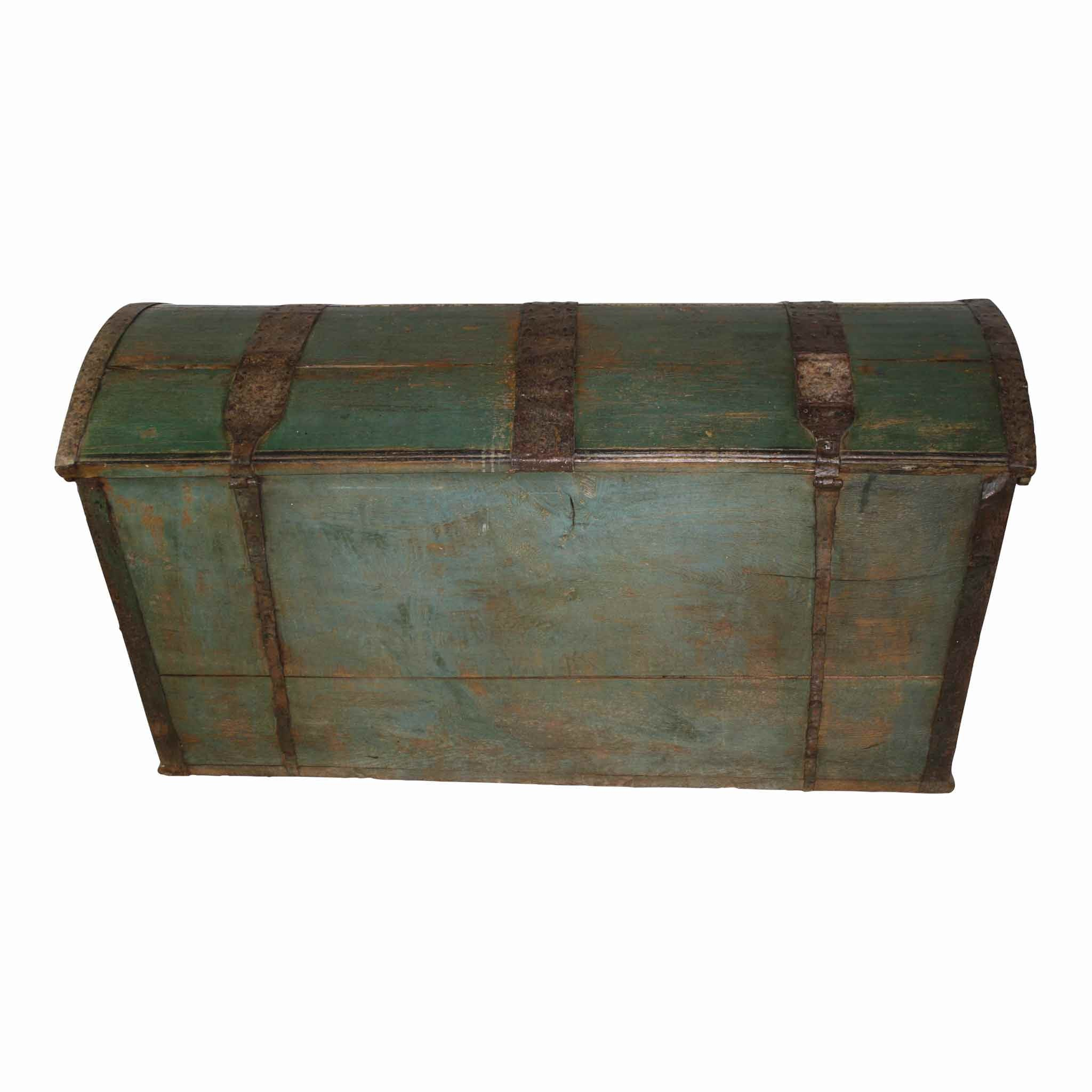 Swedish Painted Trunk