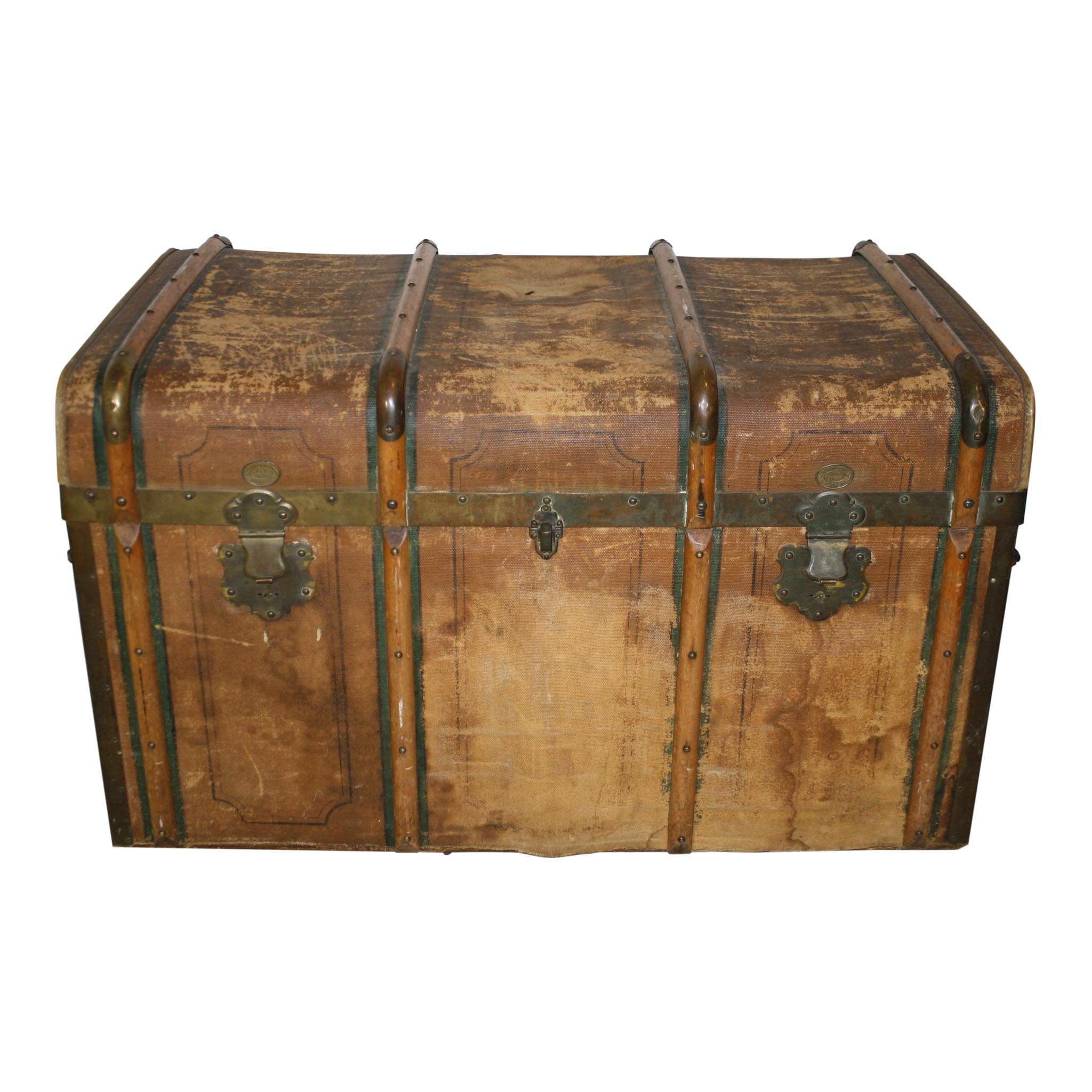 Steamer Trunk Ski Country Antiques & Home