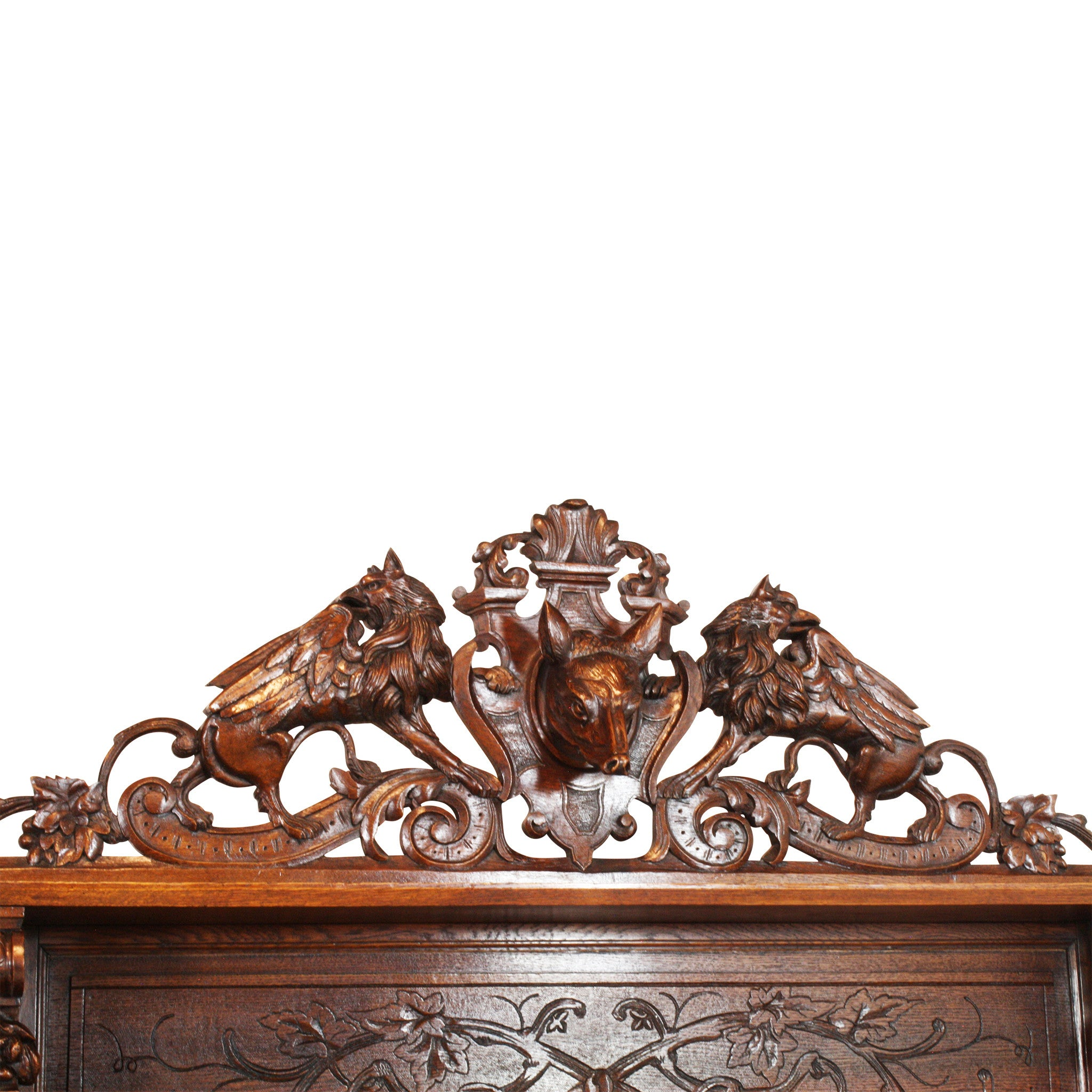 ski-country-antiques - French Hunt Buffet