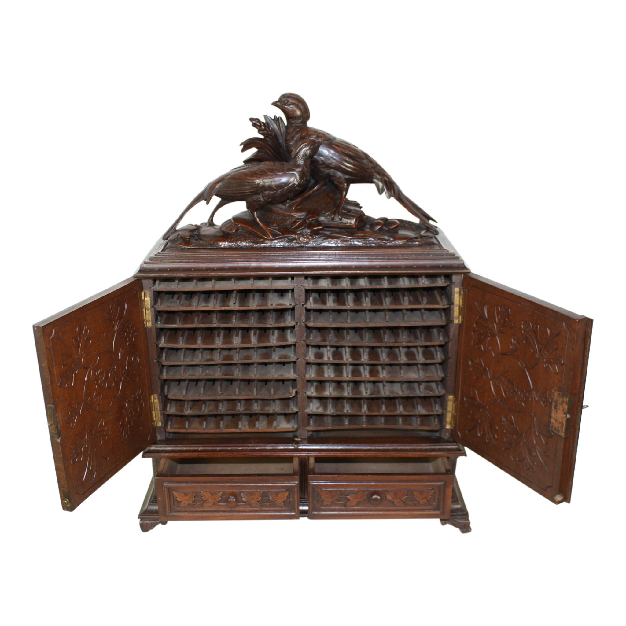 Cigar Cabinet Ski Country Antiques & Home