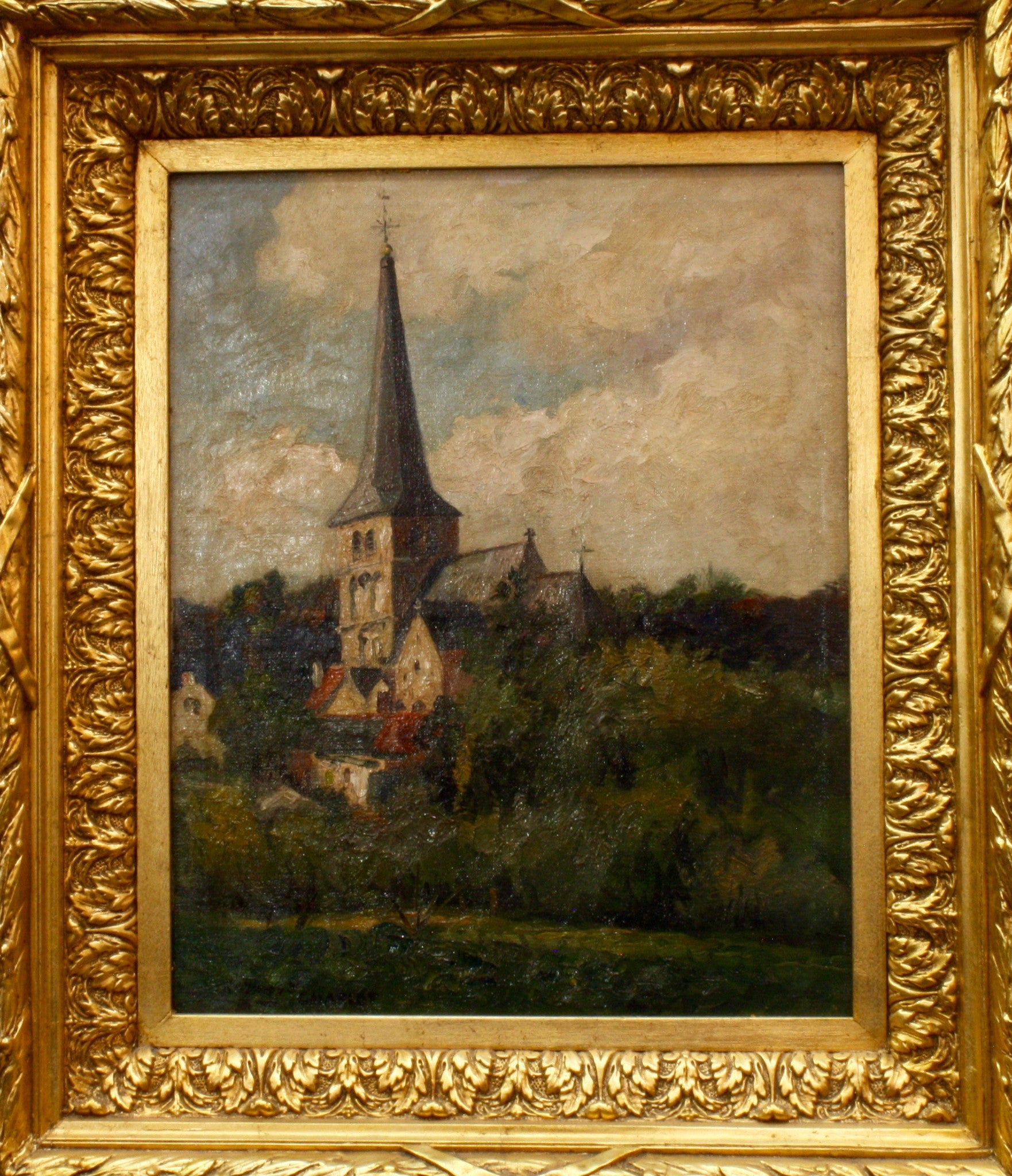 Raymond Charlot Landscape With Church