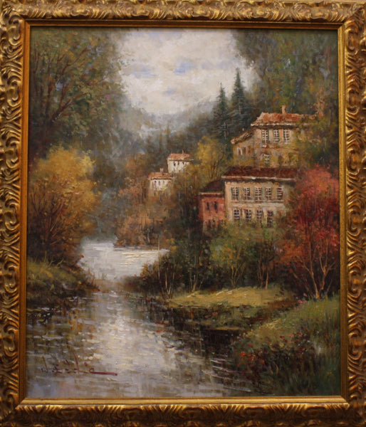 "W. Eddie European River Valley 29"" x 25"""