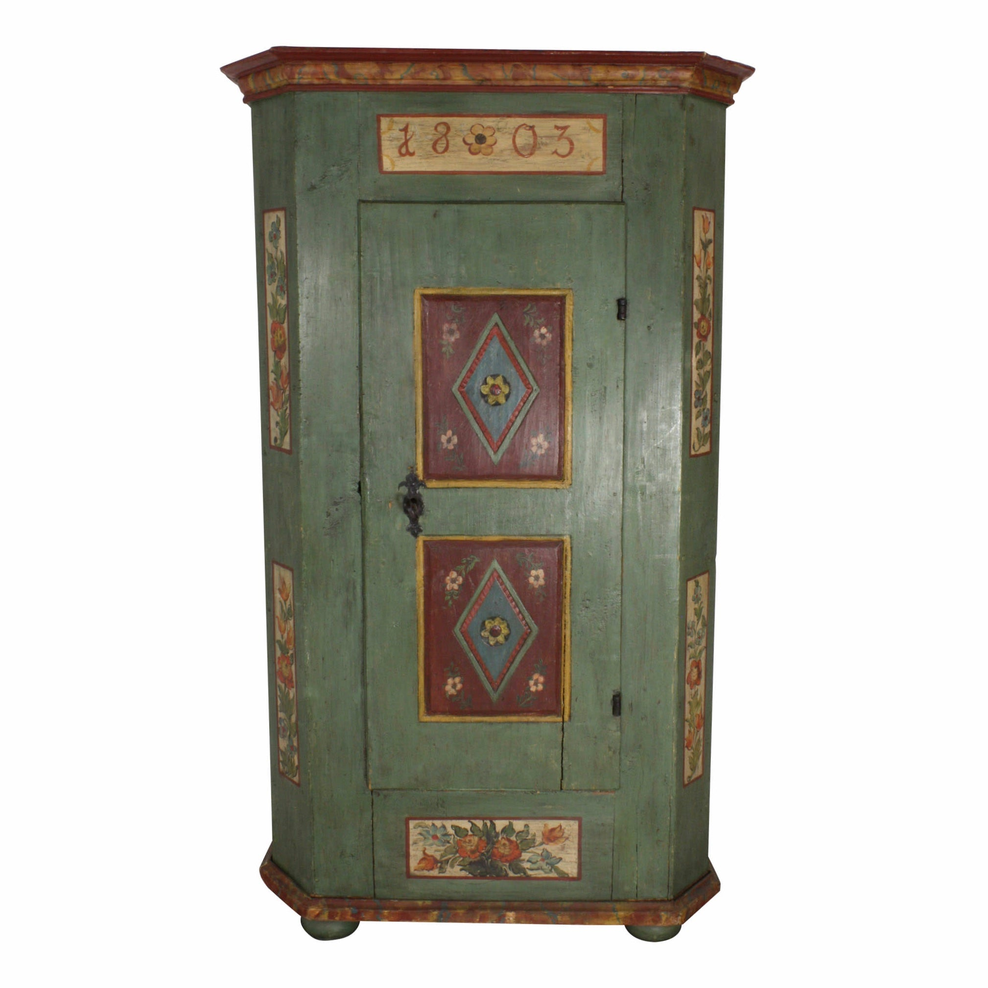 Painted Pine Armoire