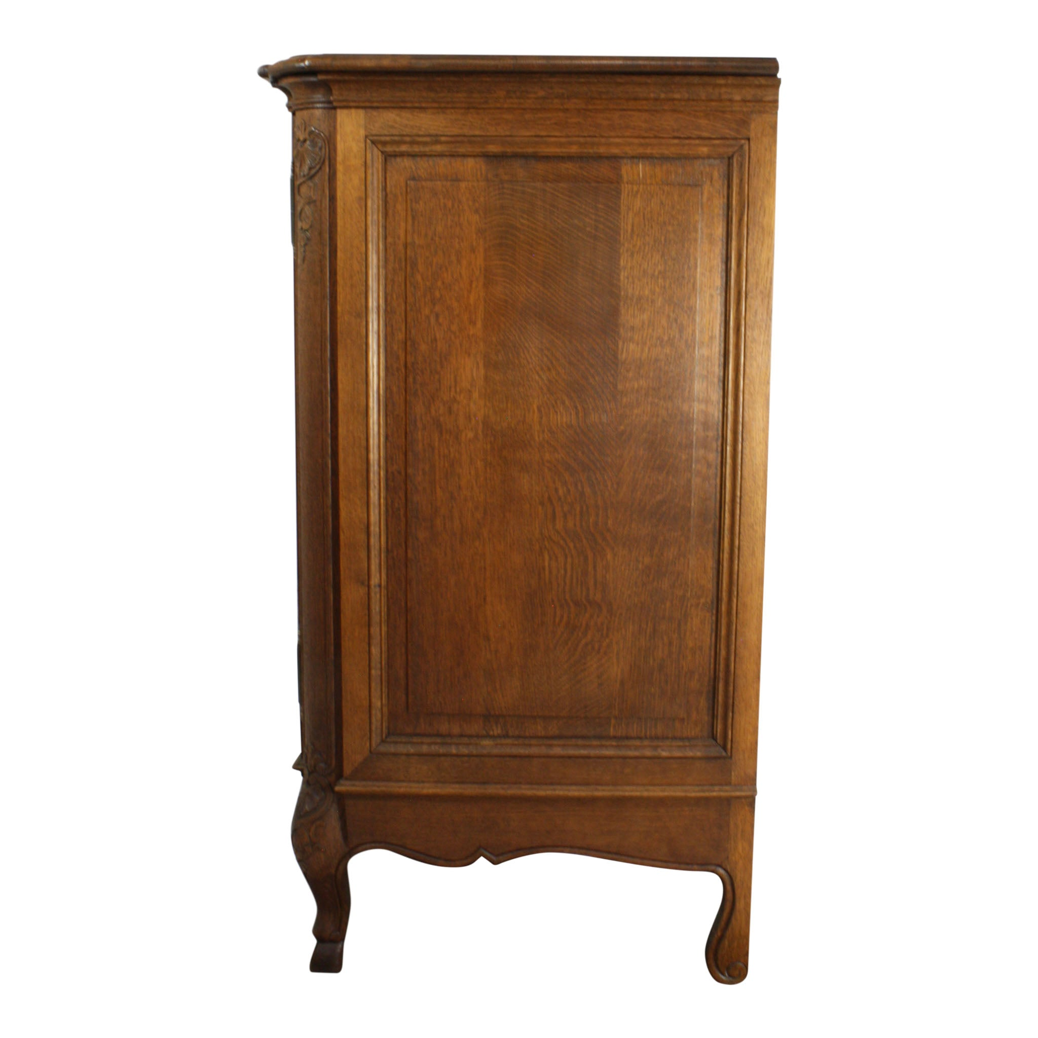 Belgian Louis XV Oak Sideboard