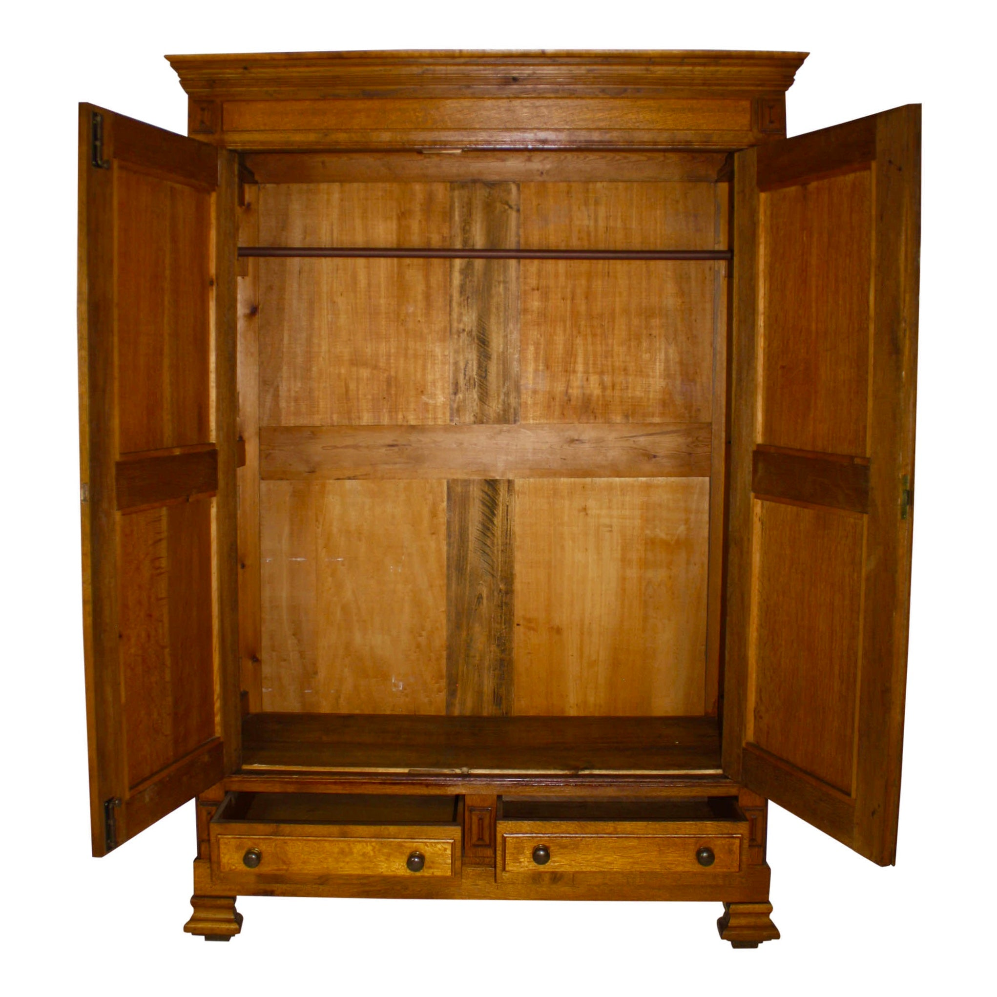 Dutch Oak Wardrobe