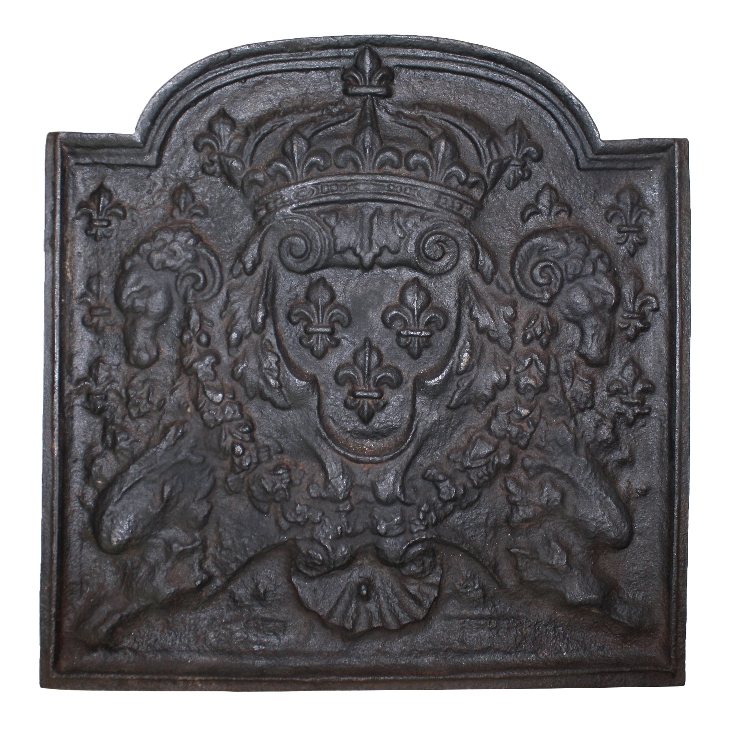 Cast Iron Fireback