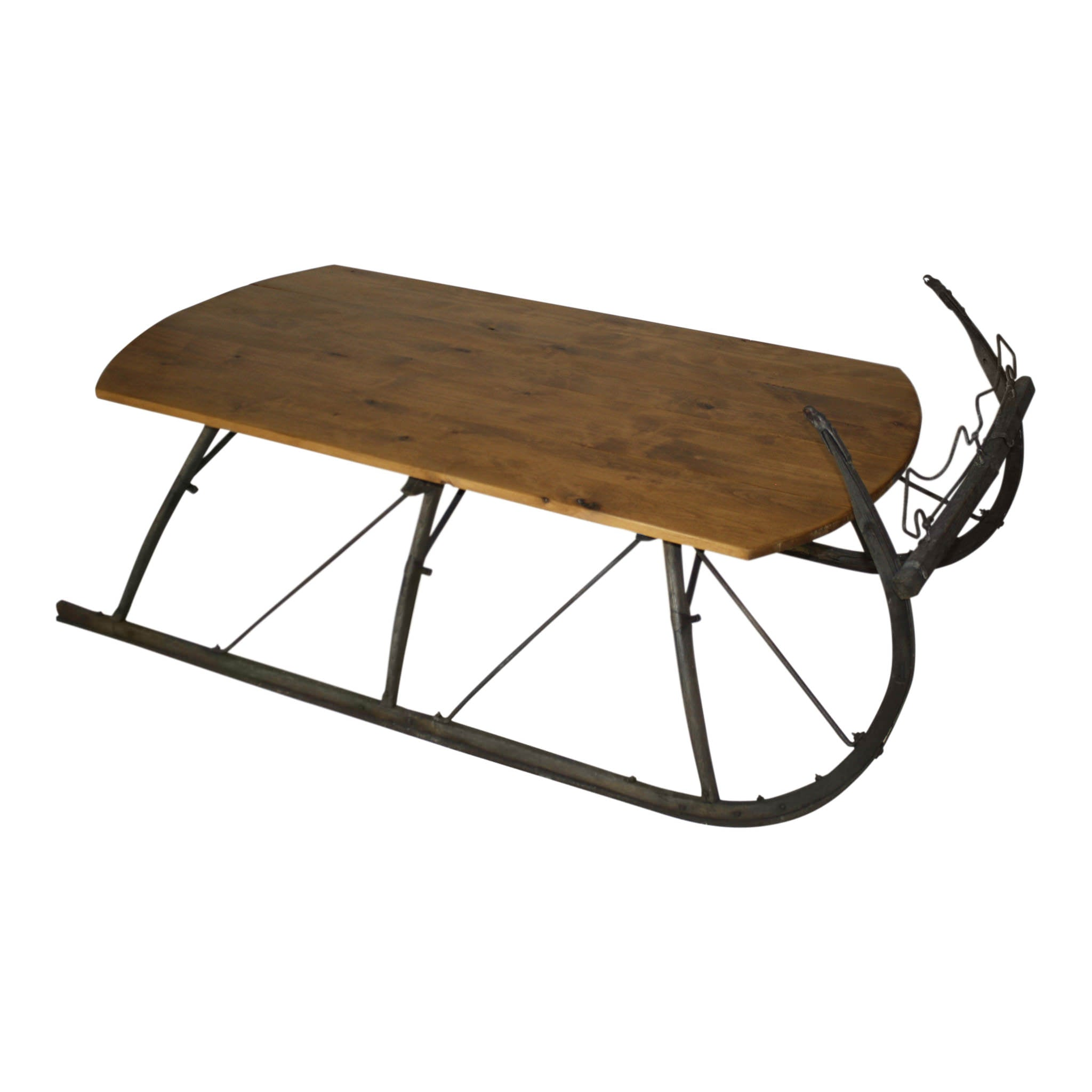 Sleigh Coffee Table