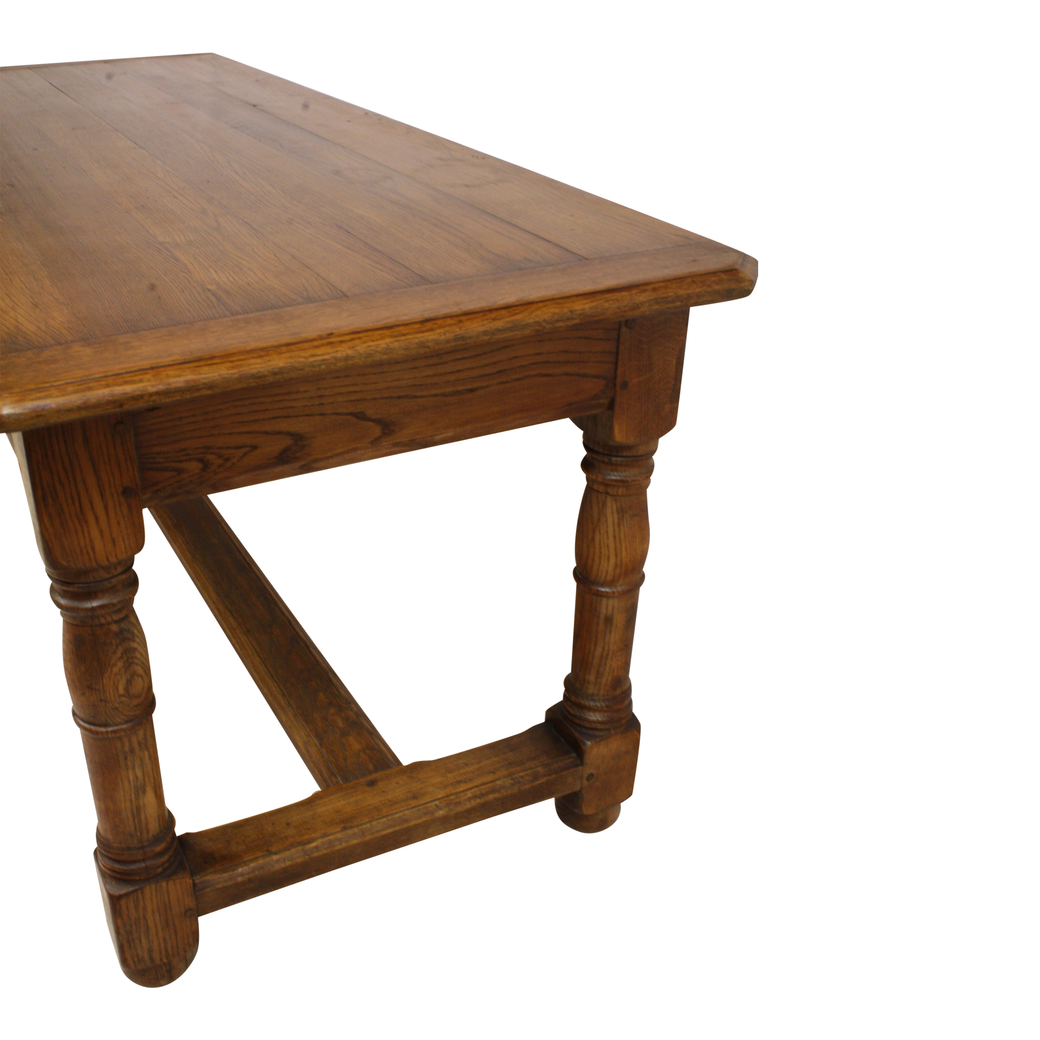 English Oak Farmhouse Table