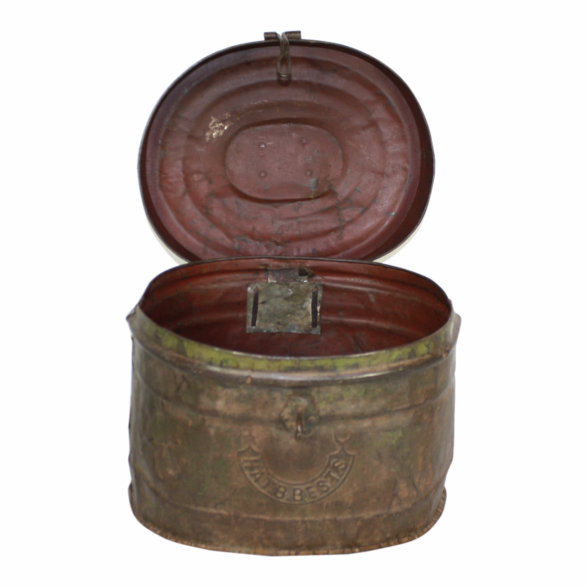 Metal Bucket with Lid
