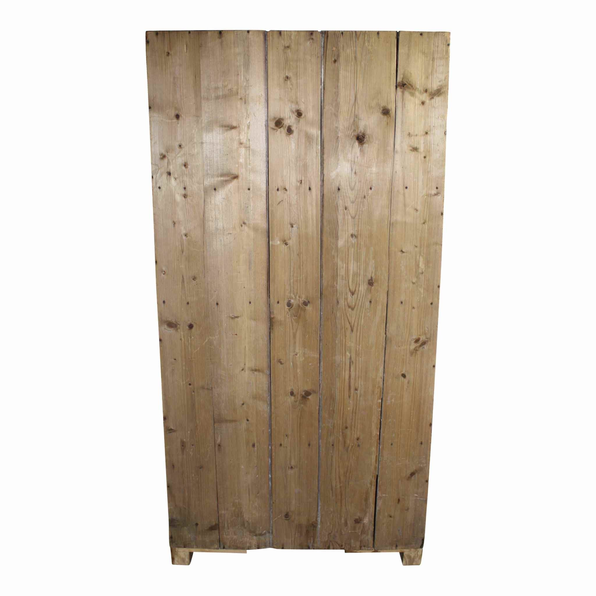 One Door Pine Armoire