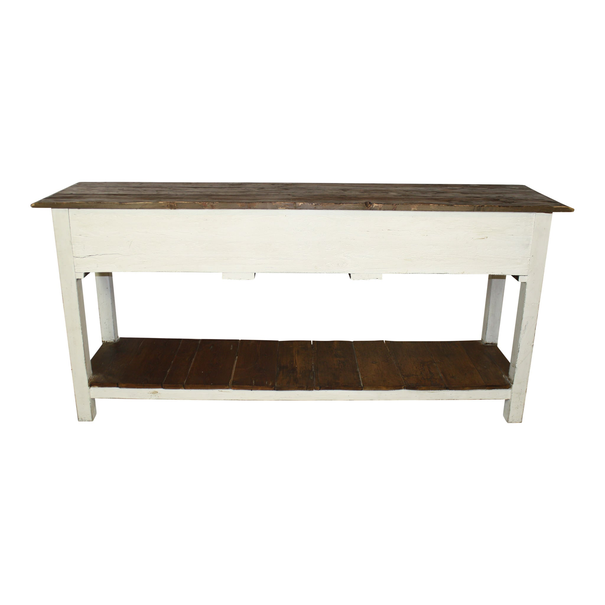 White painted sofa table ski country antiques home white painted sofa table geotapseo Image collections