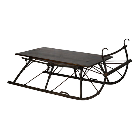 Sleigh Coffee Tables Ski Country Antiques Home
