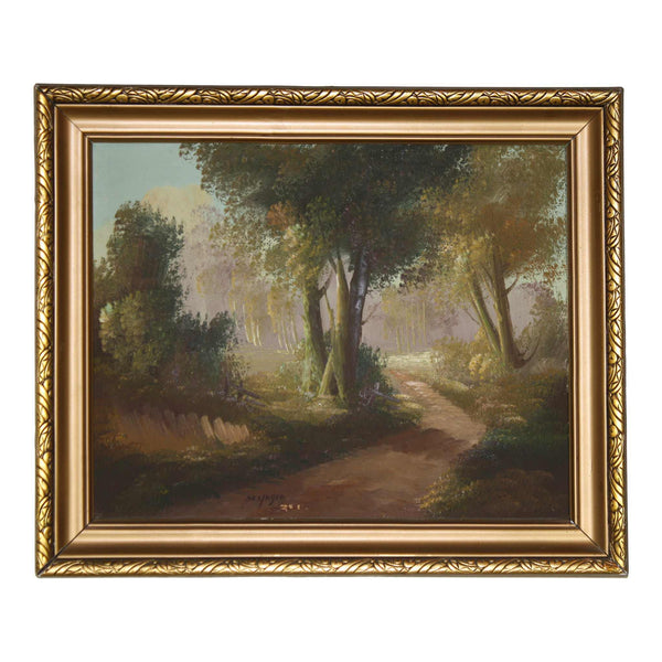 Forest Path Painting