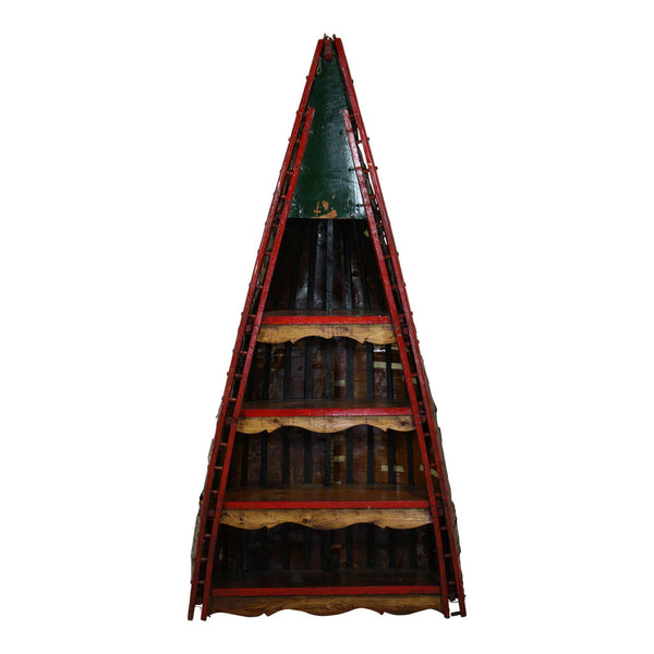 Birch Canoe Bookshelf