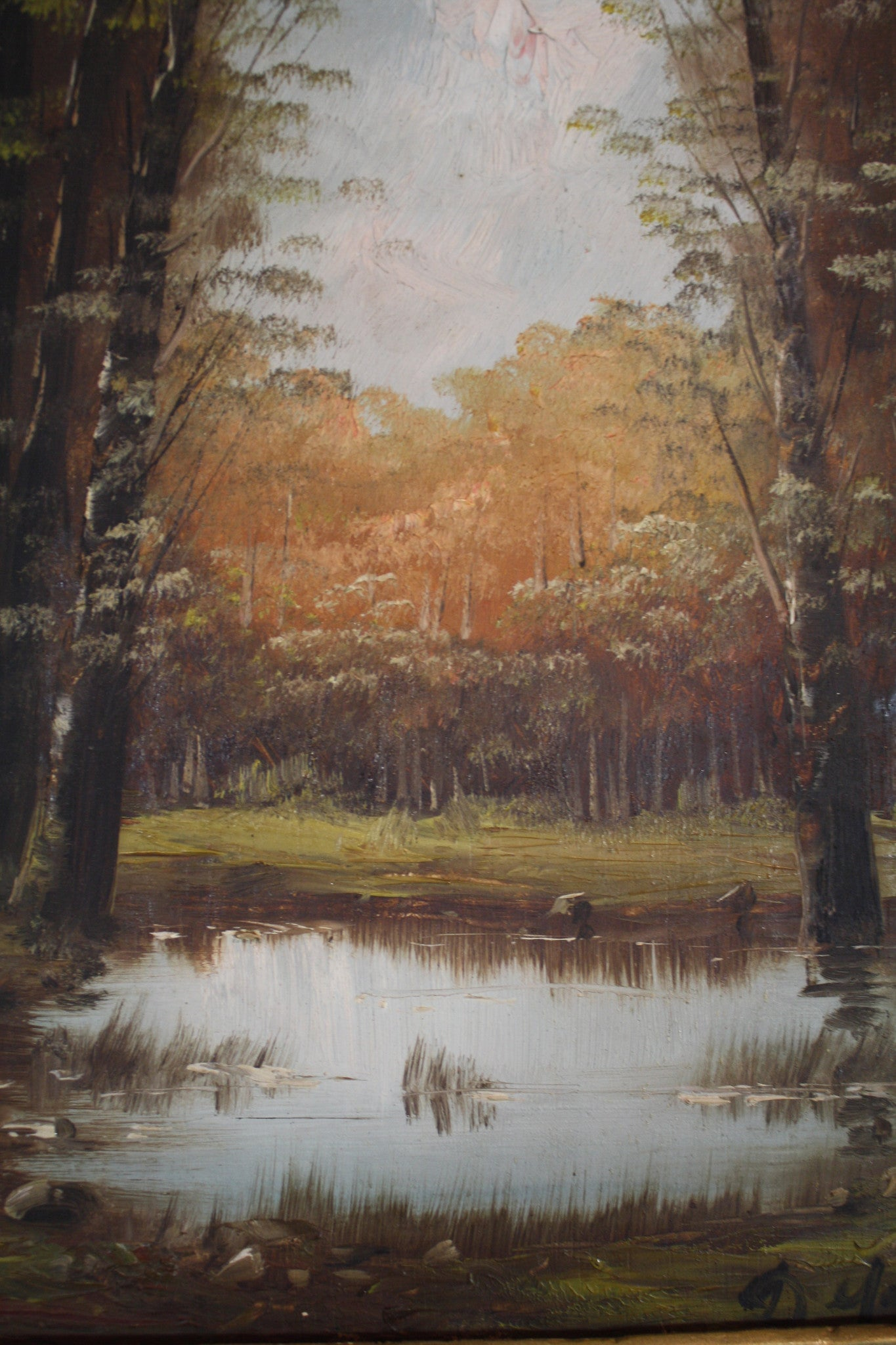 Painting of Pond