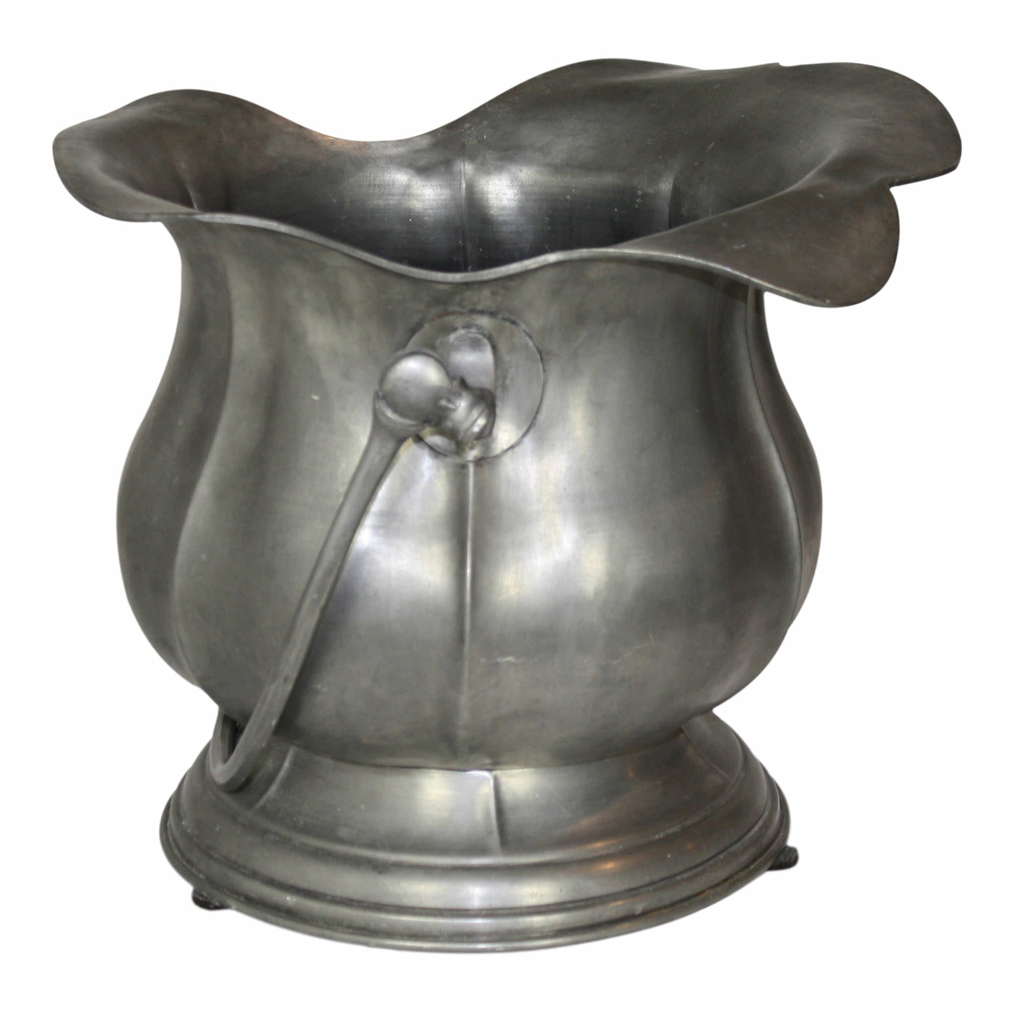 Pewter Container with Handle