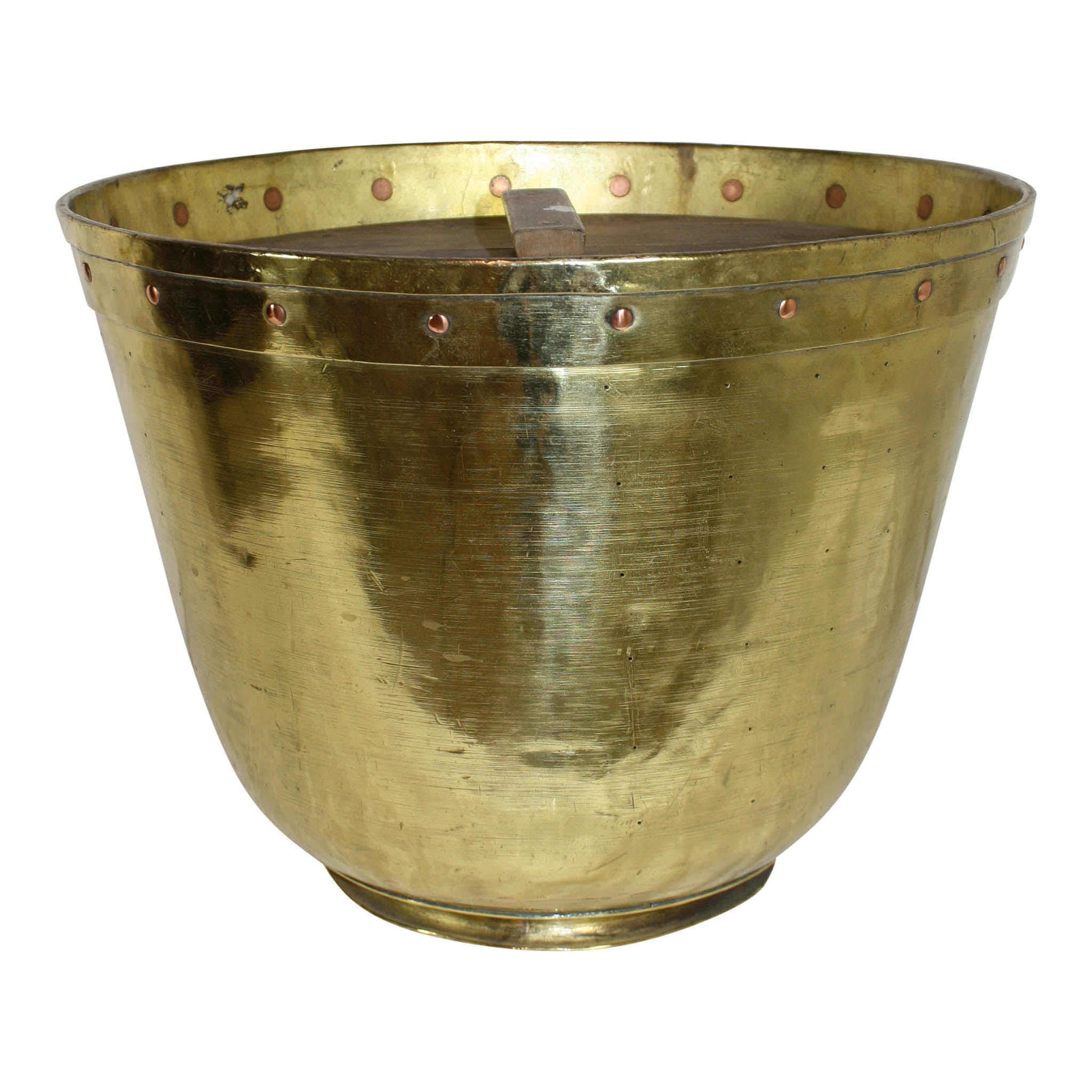 Brass Candy Pot