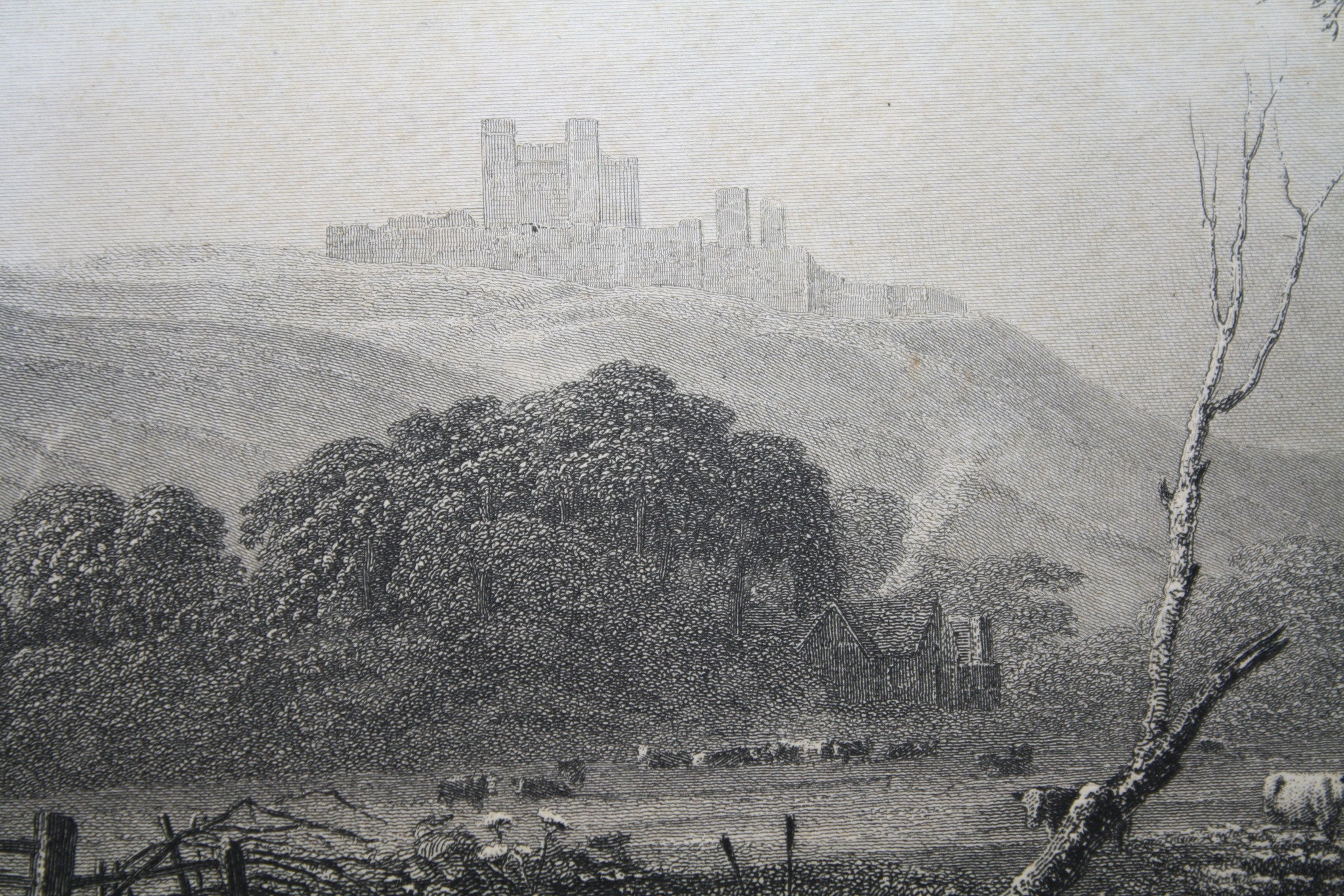 Dover Castle Framed Picture