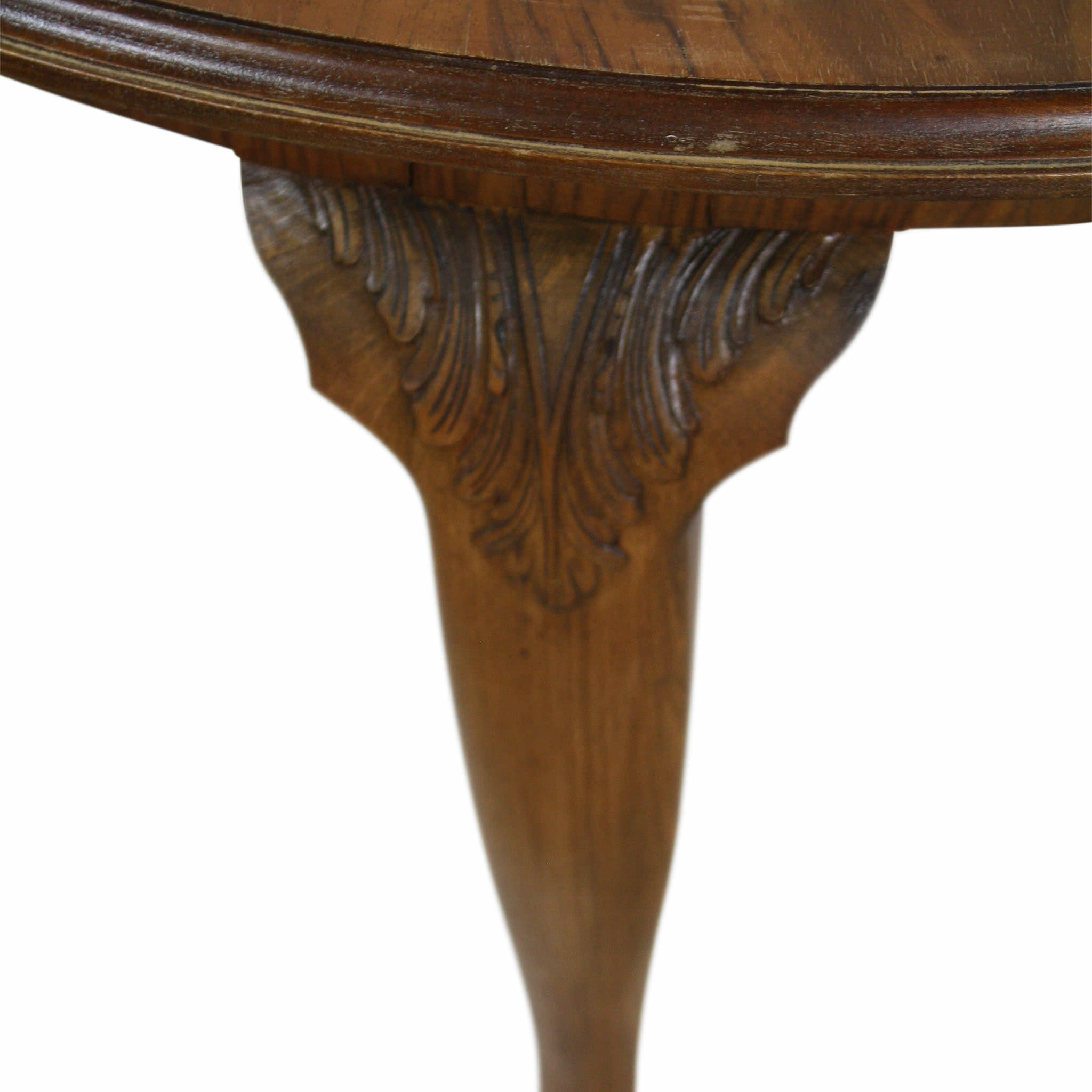 French Walnut Lamp Table