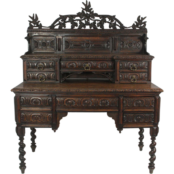French Carved Desk