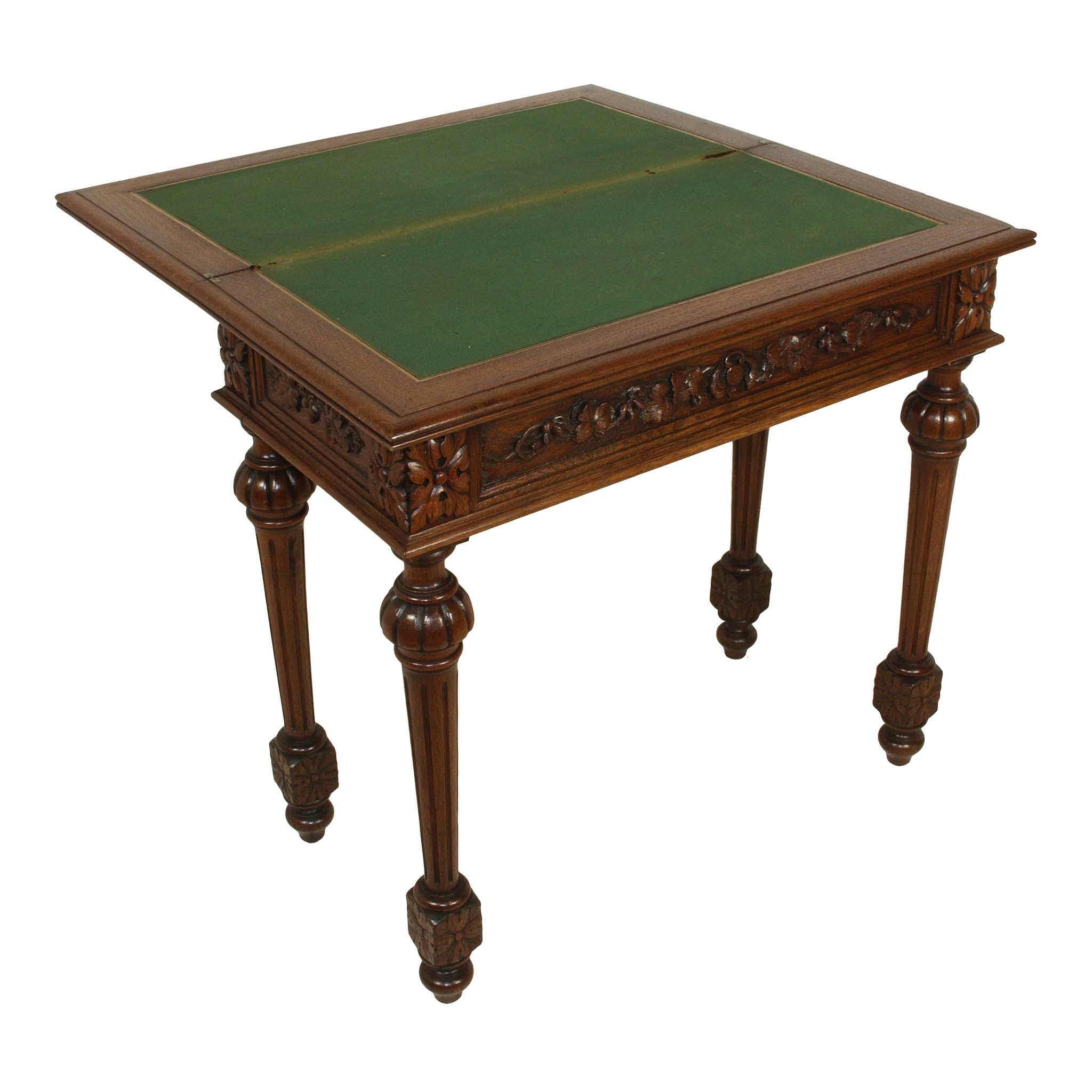 Oak Game Table