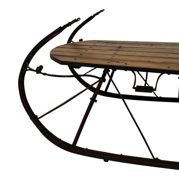 Large Sleigh Coffee Table Ski Country Antiques Amp Home