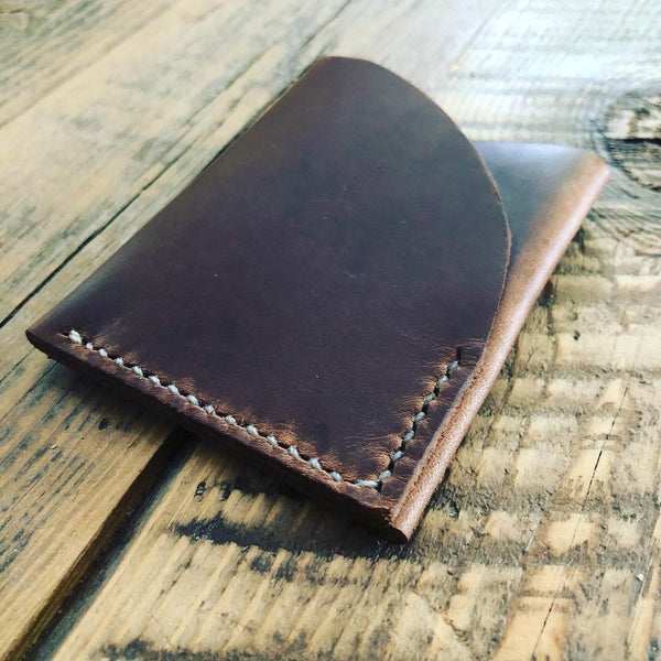 Two-Slot Minimal Leather Wallet