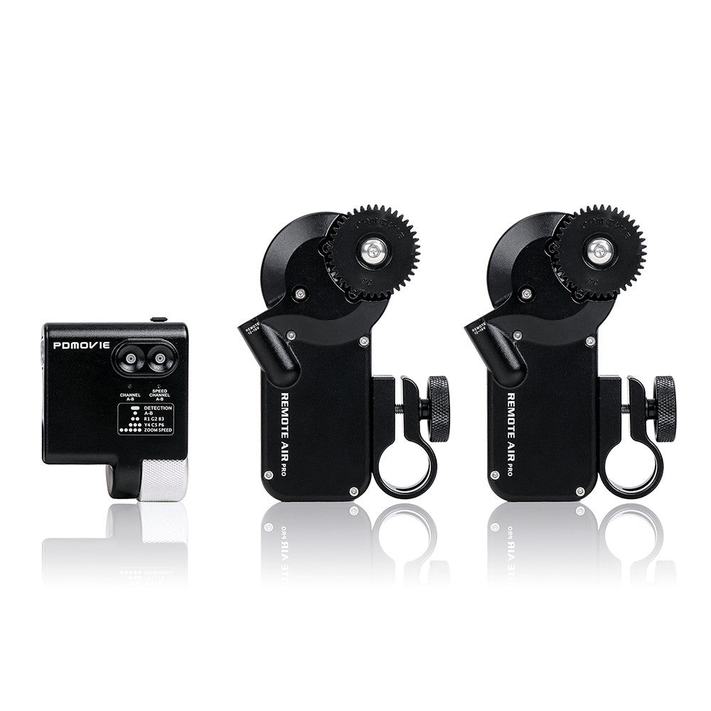PDMOVIE PDL-FZ Remote Live II Fingerwheel Controller Follow Focus Kit (Dual Channel)
