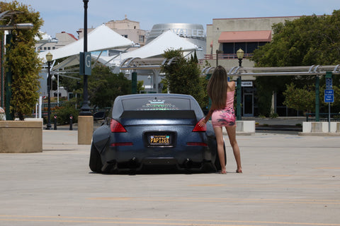 350Z Duckbill Trunk Wing