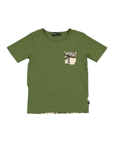 RD1438 LEMUR POCKET TEE