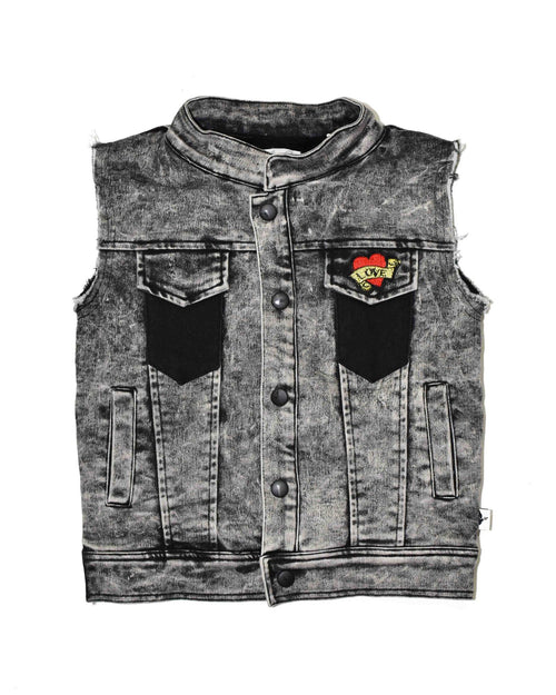 0 KR0725 GIRL SQUAD VEST  in ACID