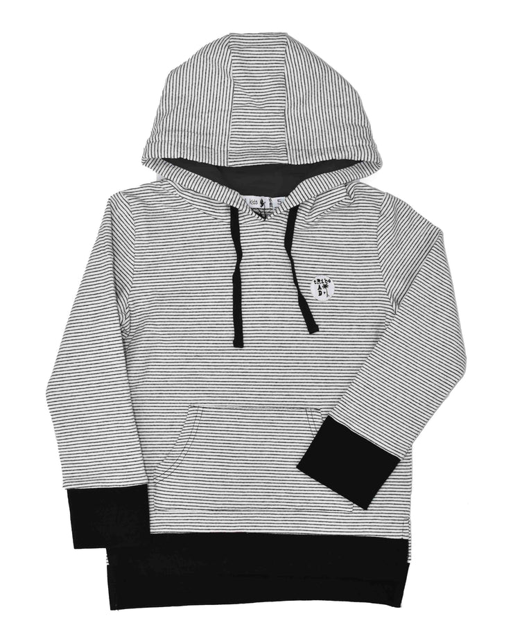 RT0408 TRIBE HOOD in STRIPE