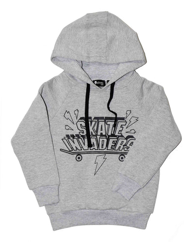 RD0936 SKATERS HOOD in GREY