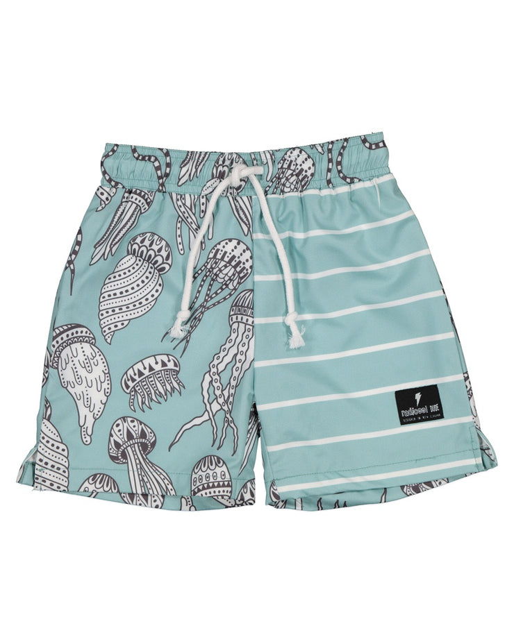 RD1427 AQUA JELLY BOARDIES