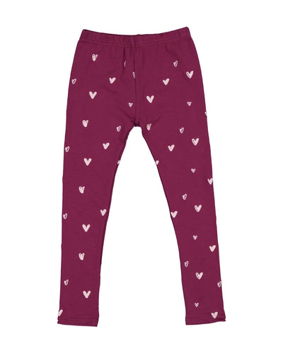 KR1224 HEART LEGGING