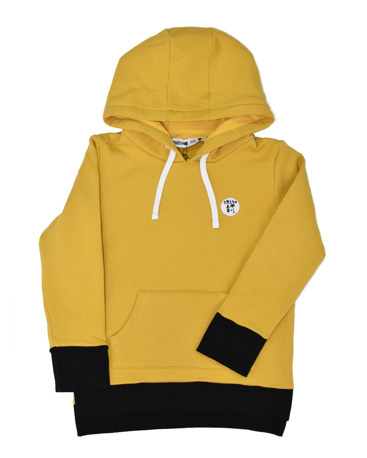 RT0406 TRIBE HOOD in GOLD