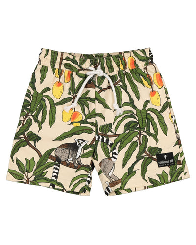 RD1439 JUNGLE LEMUR SHORTS