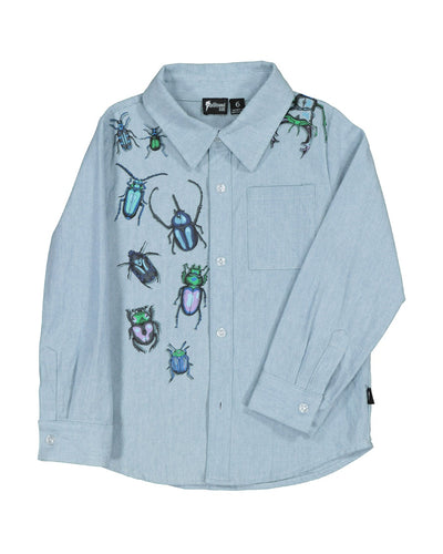 RD1512 BEETLES CHAMBRAY SHIRT