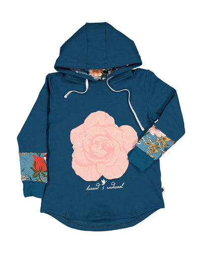 KR1223 WINTER ROSE HOOD